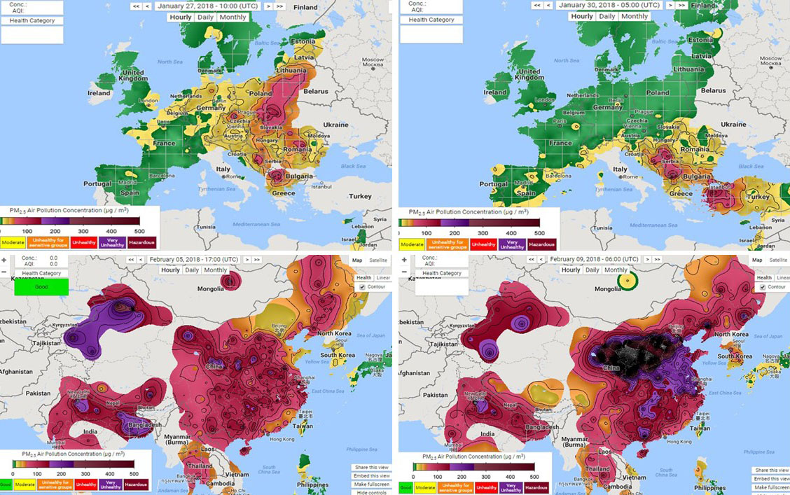 The Real-Time Air Quality Index: Trick or Truth?
