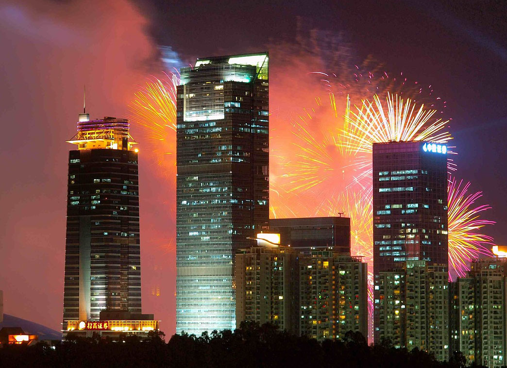 Massive Fireworks Exacerbated Air Pollution across China in Lunar New Year's Eve